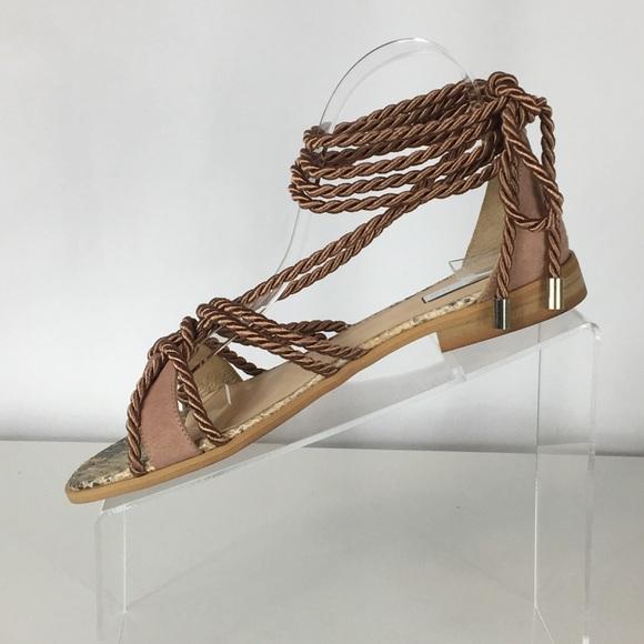660c61da8bf NIB Anthropologie- Elysess Rope Gladiator Sandals
